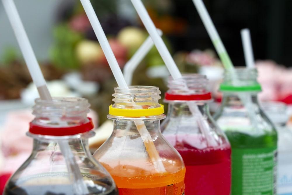 Celulitis: Bebidas con gas